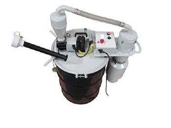 Fluorescent Bulb Crushers Lamp Compactors
