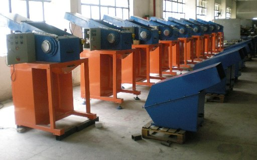 Small Plastic Grinders at Plant
