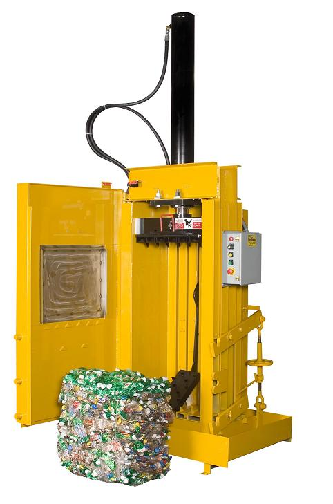 Bottle Can Baler Vertical