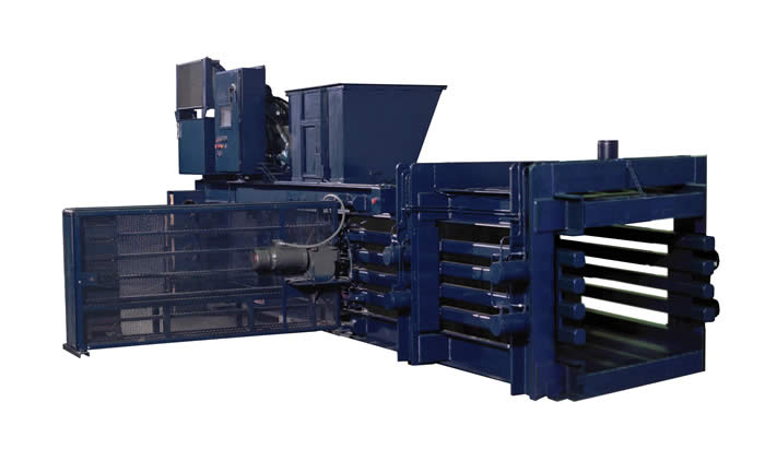 Horizontal Open End Balers