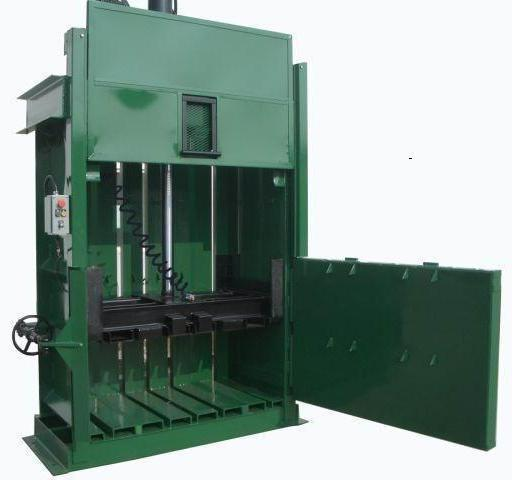 Economy Cardboard and Shrink Wrap Baler
