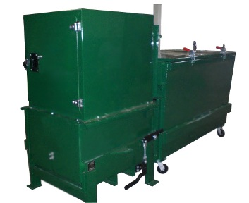Indoor Hopper Compactor with Container
