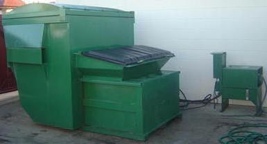 Small Self Contained Compactors