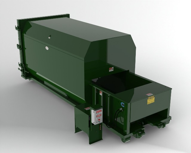 20 yard self contained compactors Garbage compactor