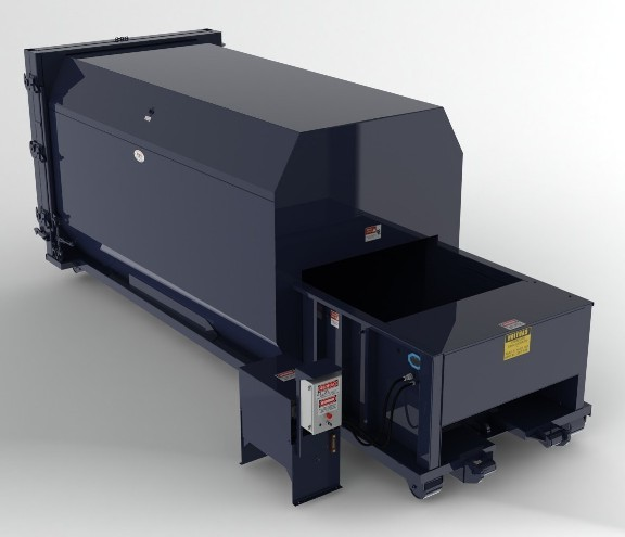 35 Yard Self Contained Compactor - 2 Yd Charge Box
