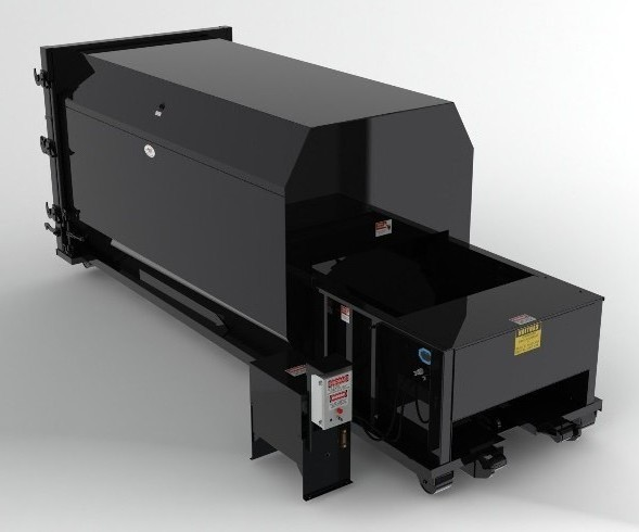 38 Yard Self Contained Compactor - 2 Yd Charge Box