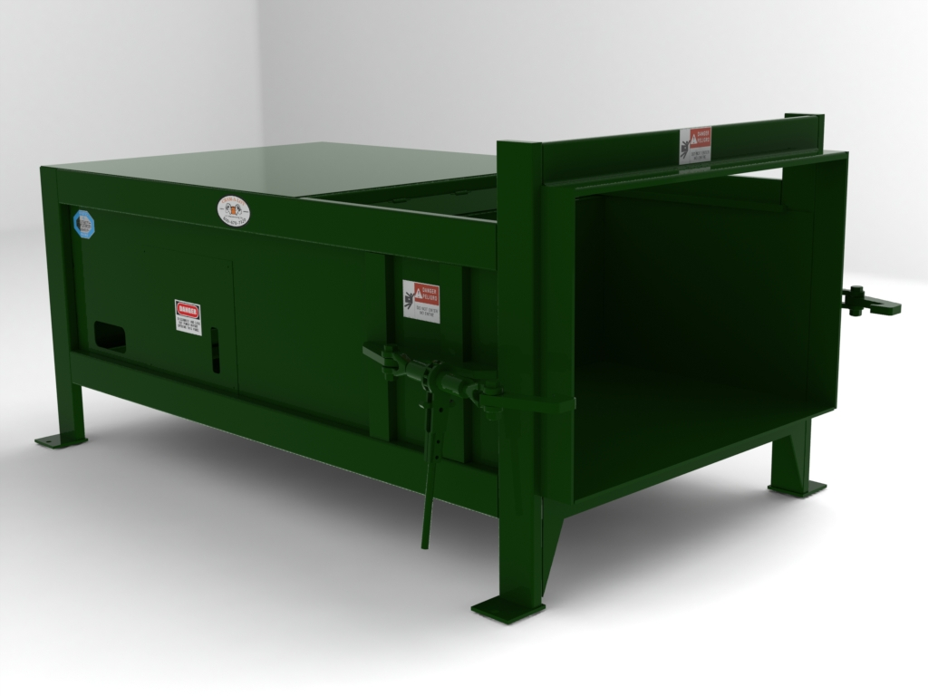 Outdoor trash compactors reference guide Garbage compactor