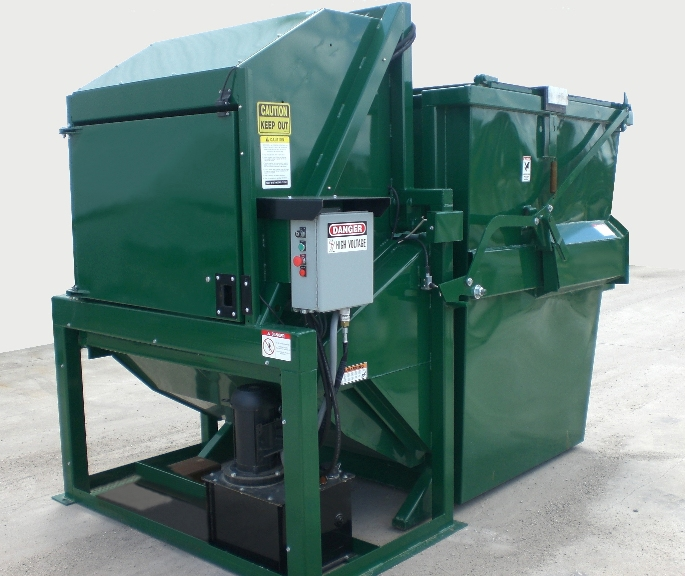 4 Yard Front Load Vertical Compactor
