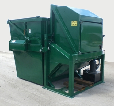 Container Friendly Thru-the-Wall Compactors